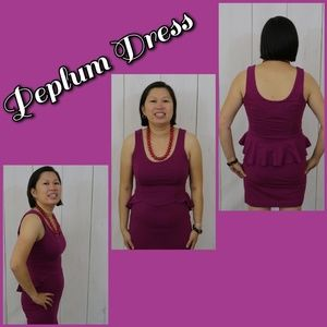 Urban Outfitters Dress Coincidence & Chance Peplum